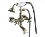 Смеситель Zorg AZR 606 W Kamen бронза для ванны