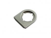 Адаптер для 1-й стеклянной двери, отделка никель глянец
