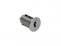 Цилиндр замка с 2-мя ключами, отделка никель